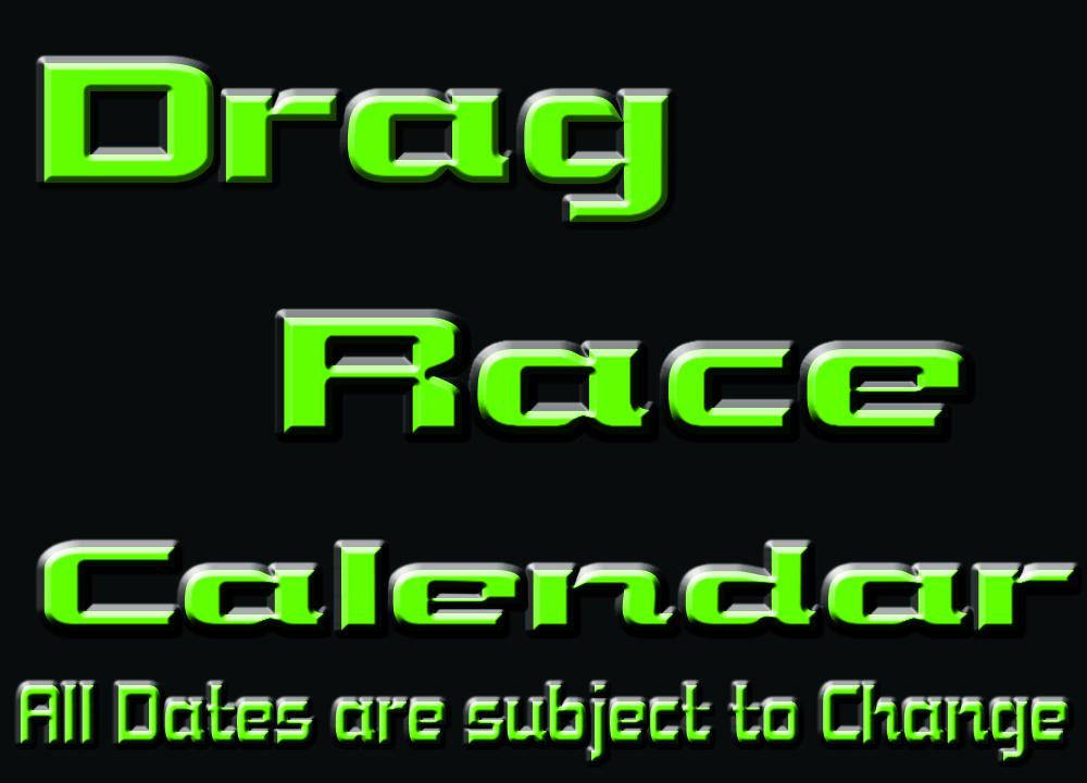 Drag Race Calendar