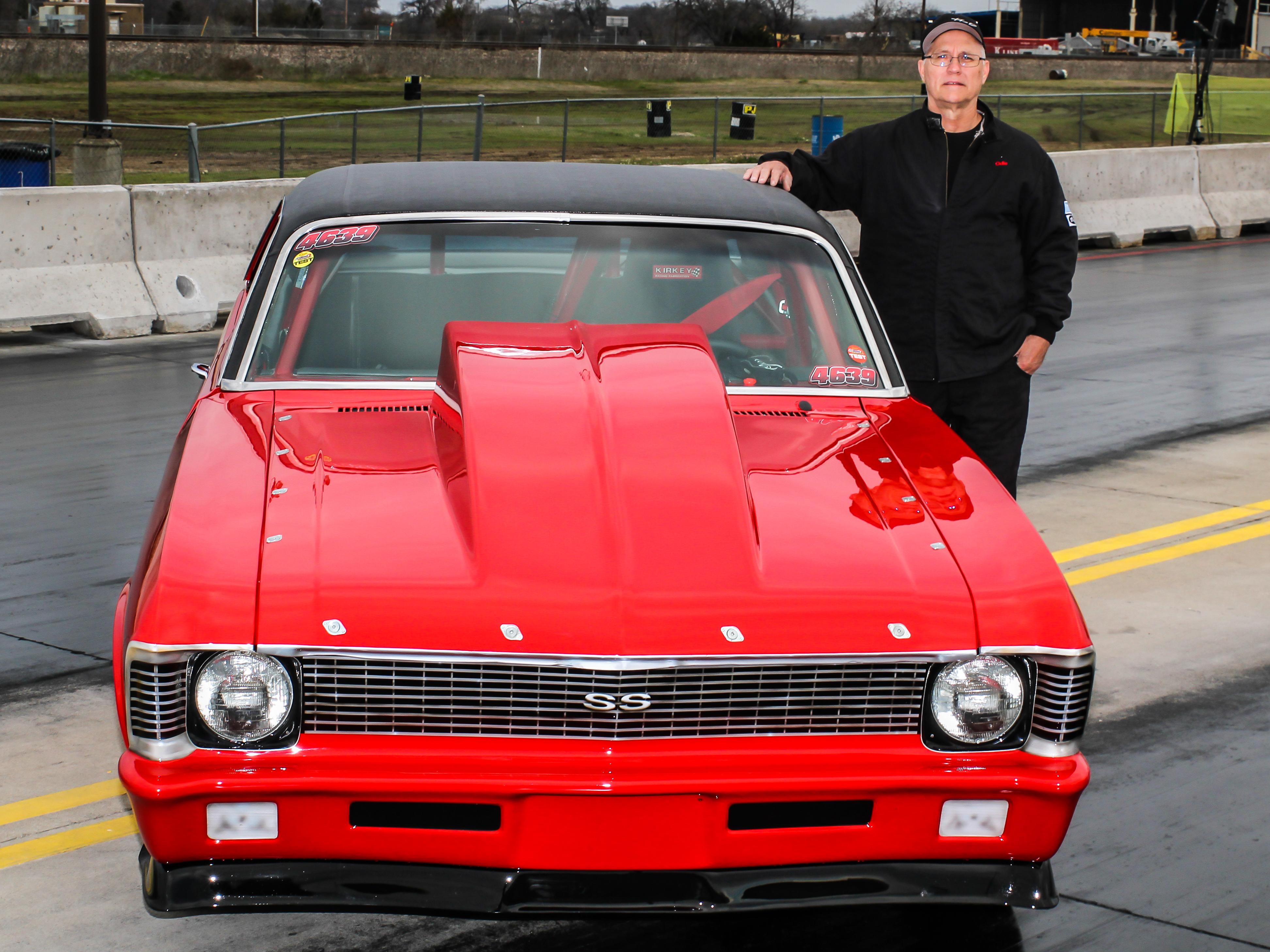 "Odie Strugeon\'s ""Red Rocket"" 1971 Chevy Nova – Drag RaDial MeDia"