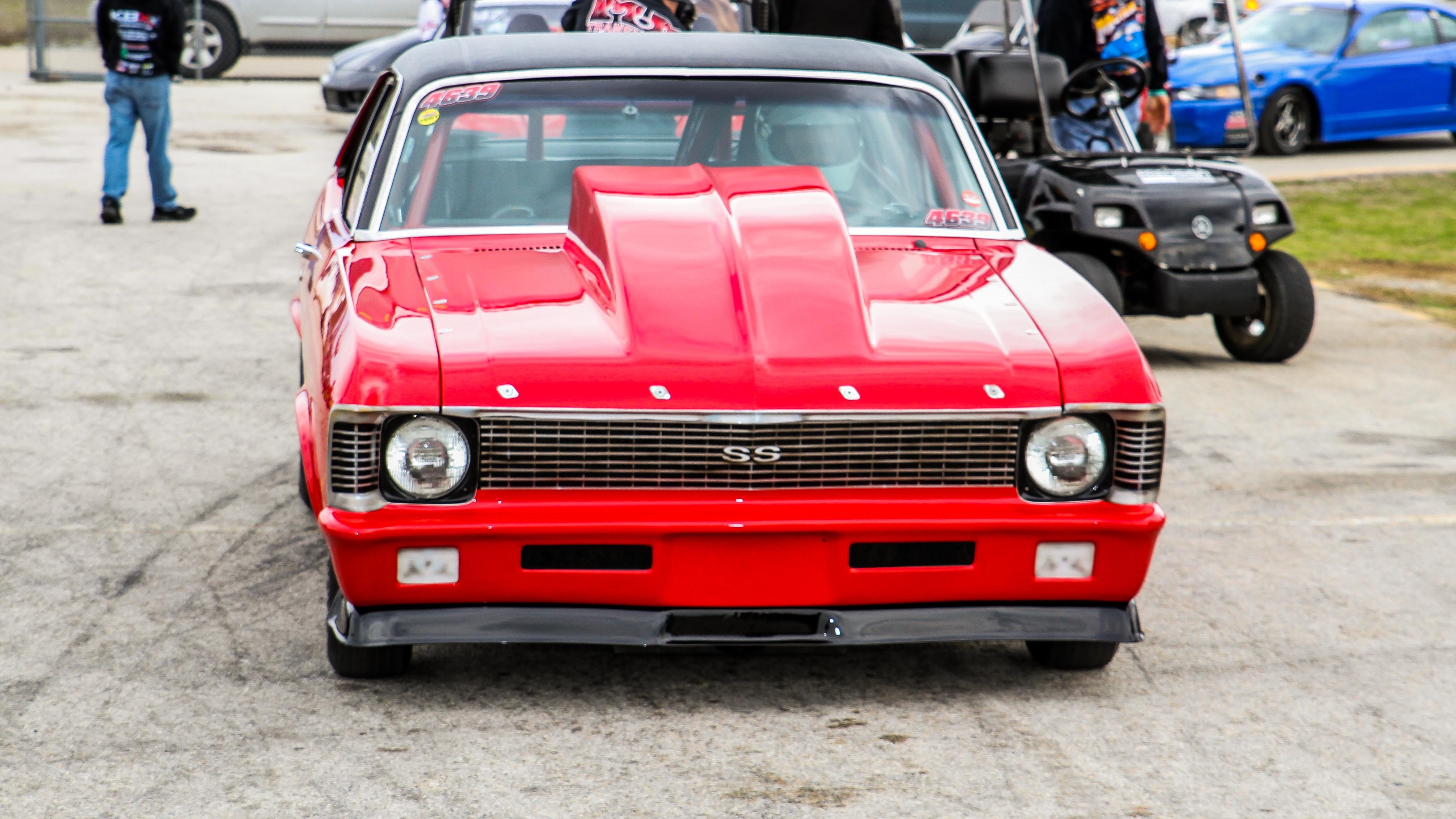 "Memphis International Raceway >> Odie Strugeon's ""Red Rocket"" 1971 Chevy Nova – Drag RaDial MeDia"